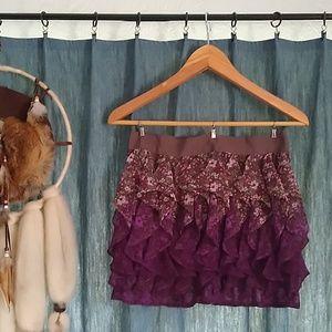 Dresses & Skirts - Ruffle Flower Fade Skirt